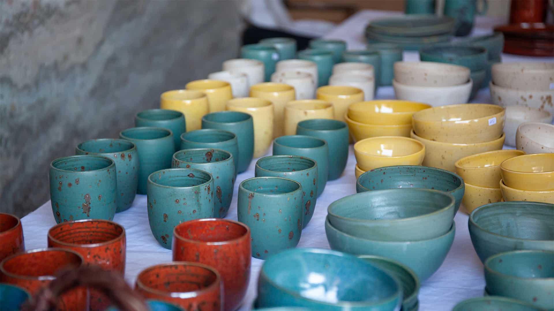 pottemager højer håndværksfestival